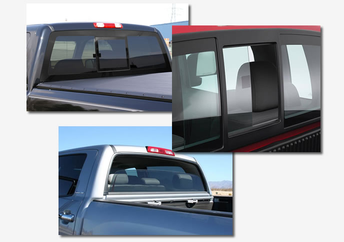 Truck Back Slider Auto Glass Replacement