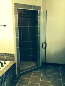 Leon stone shower