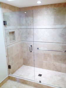 towel bar shower
