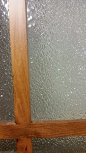 Close-up of Crystal Ice in cabinet