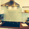 Custom Oven Glass Backsplash